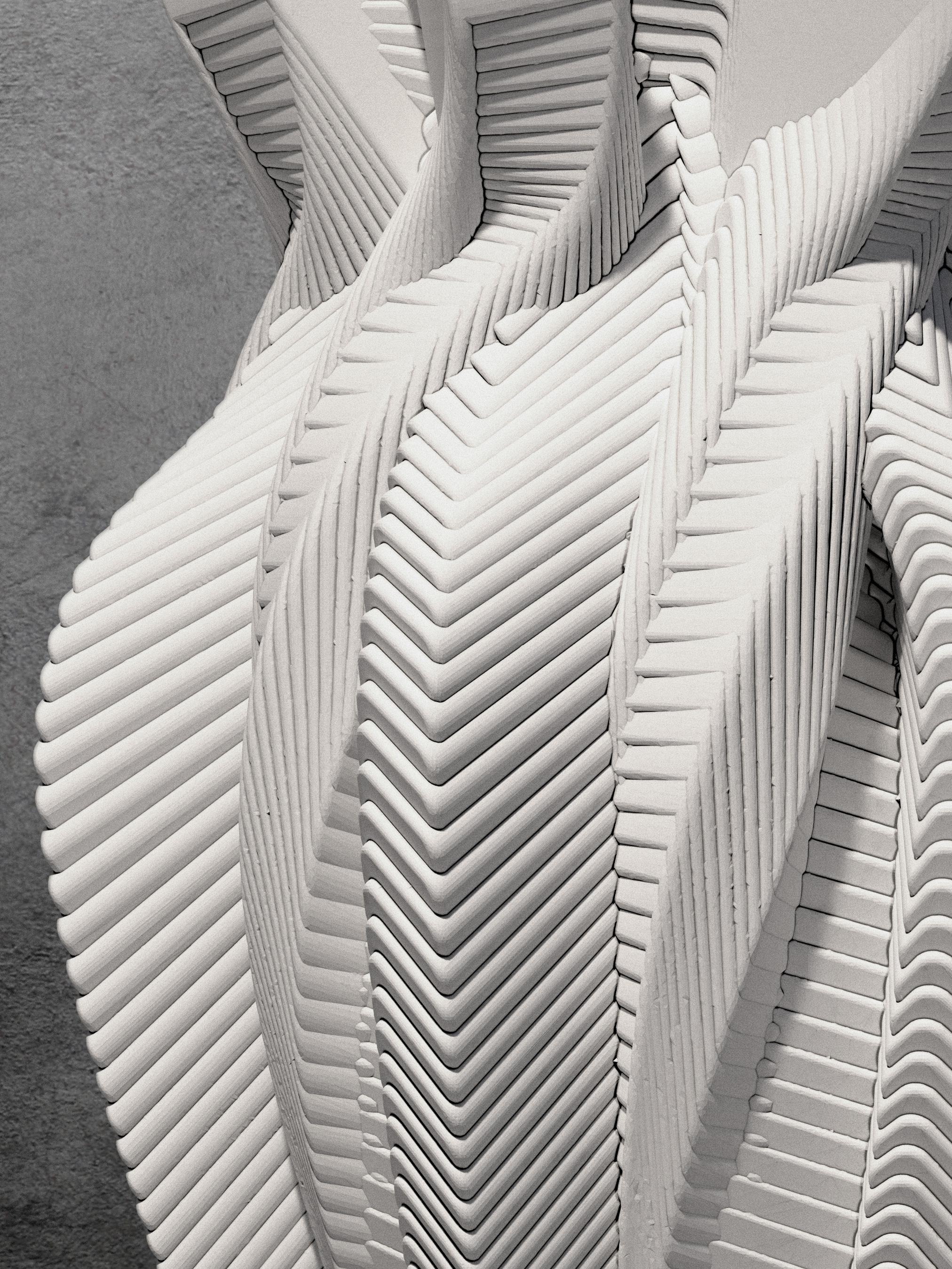 Vase A - Close Up