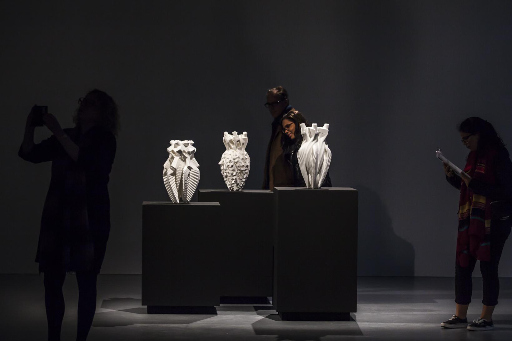 Vases on Display. Photo Credit : Hanneke Wetzer