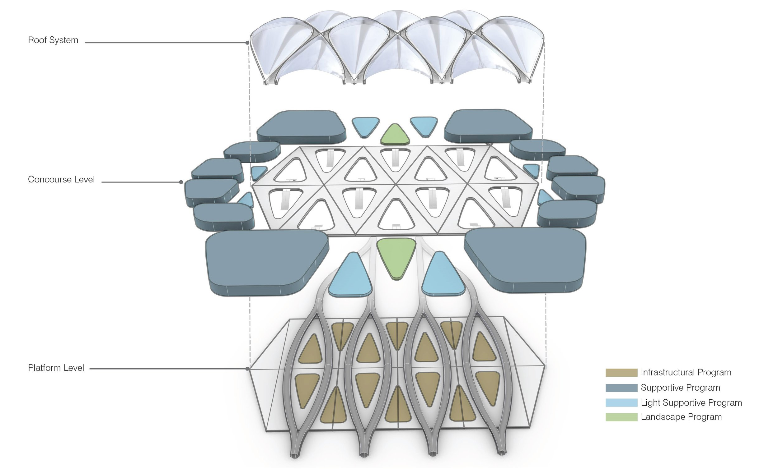 The Station is based on a modular design framework