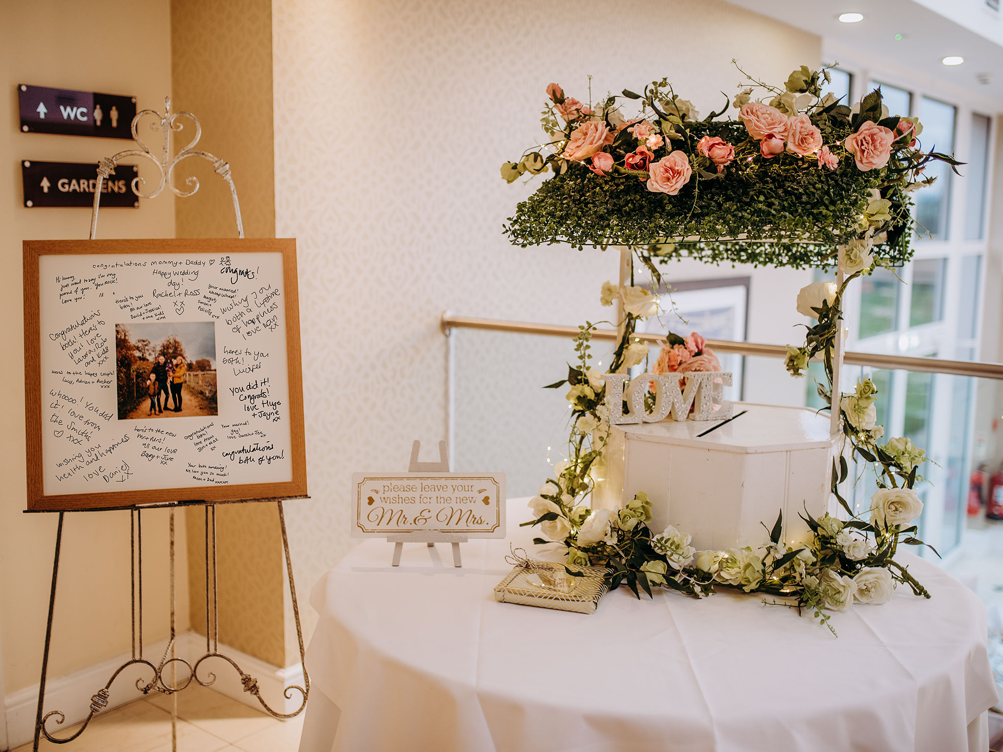 Signing Frames... - ... a great alternative to a guest book!prices below…