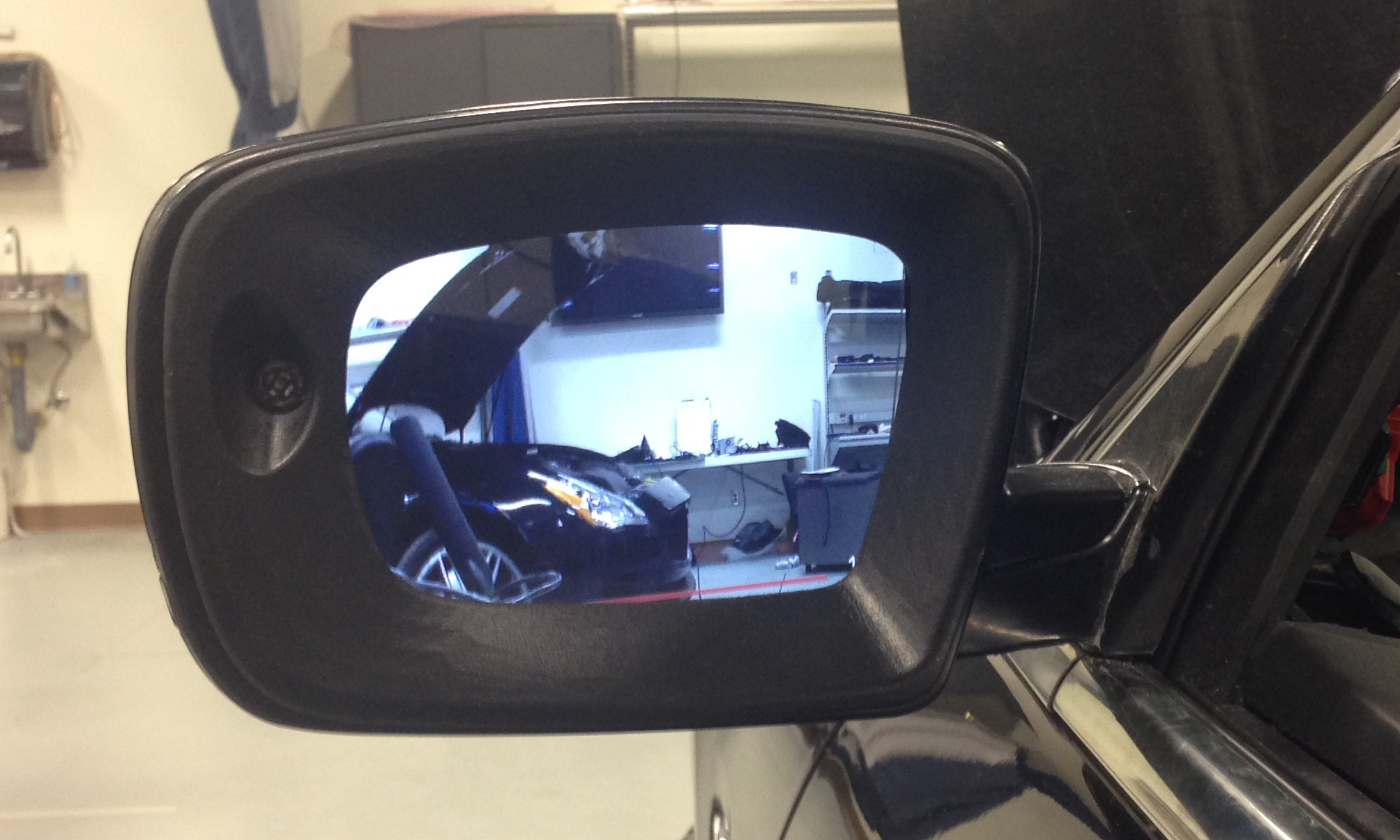 Maserati Side Mirror After