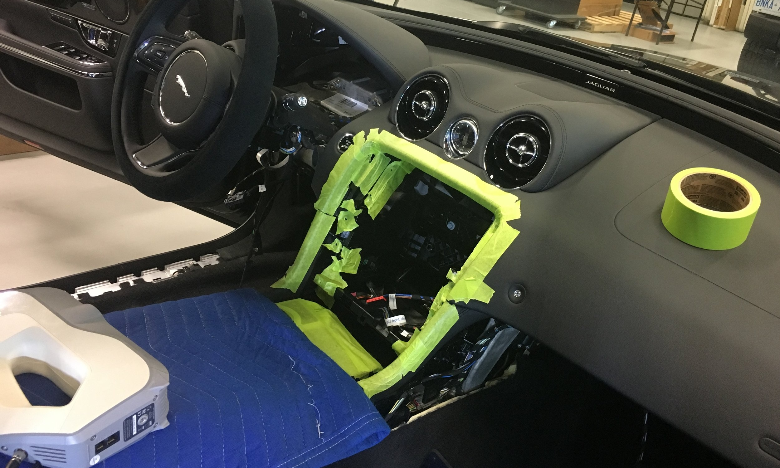 Jaguar 3D Scan Dash