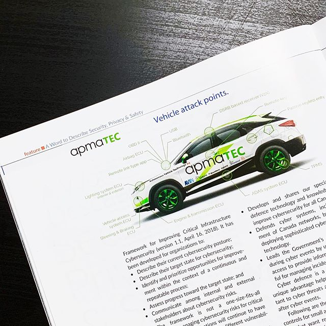 We're excited to see the Lexus RX350 featured in the latest issue of APMA's association magazine, Lead, Reach and Connect. Read the article for yourself on their website! . . . . . . #apma #apmatec #avin #investstratford #lexus #lexusrx350 #blackberry #qnx #autonomous #autonomousvehicle #autonomousvehicletechnology #ontario #car #automotive #cardesign #industrialdesign #industrialdesigner #productdesigner #studio63 #designdoneright