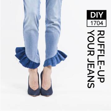 KinsuAtelier  - Brand  Ruffle your Jeans, Pattern.