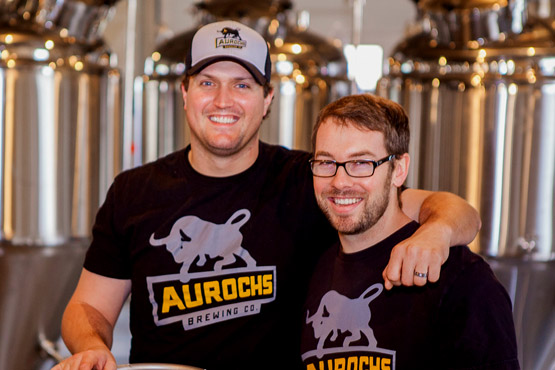 Aurochs Brewing Company was created by Doug Foster and Ryan Bove out of a drive to bring great-tasting beer to the gluten-free community.