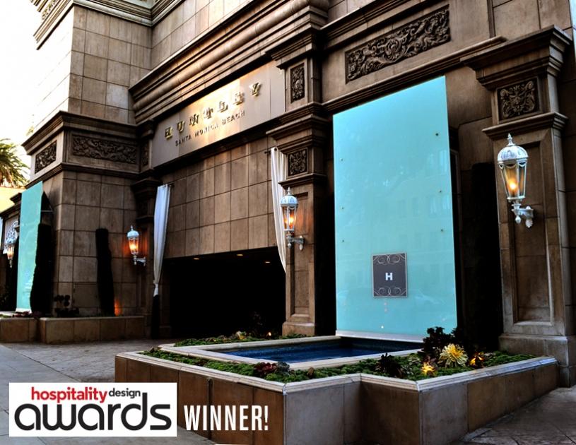 Huntley Hotel - Santa Monica    WINNER: Hospitality Design Award, Editors Design Award - Lodging - Hospitality Magazine