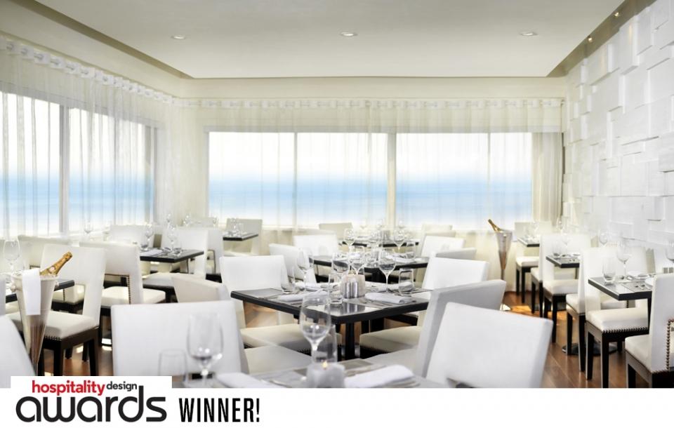Huntley Penthouse Restaurant - Santa Monica   WINNER: Hospitality Design Award, Best Restaurant - Fine Dining