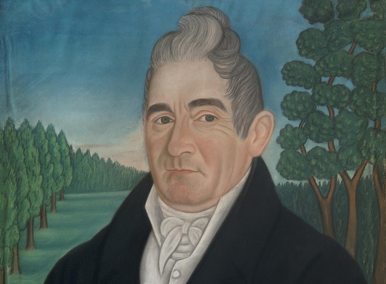 Image Credit: George Clarke (b. 1764). Micah Williams (1782-1837). Pastel on paper. Collection of Edward King, Jr.