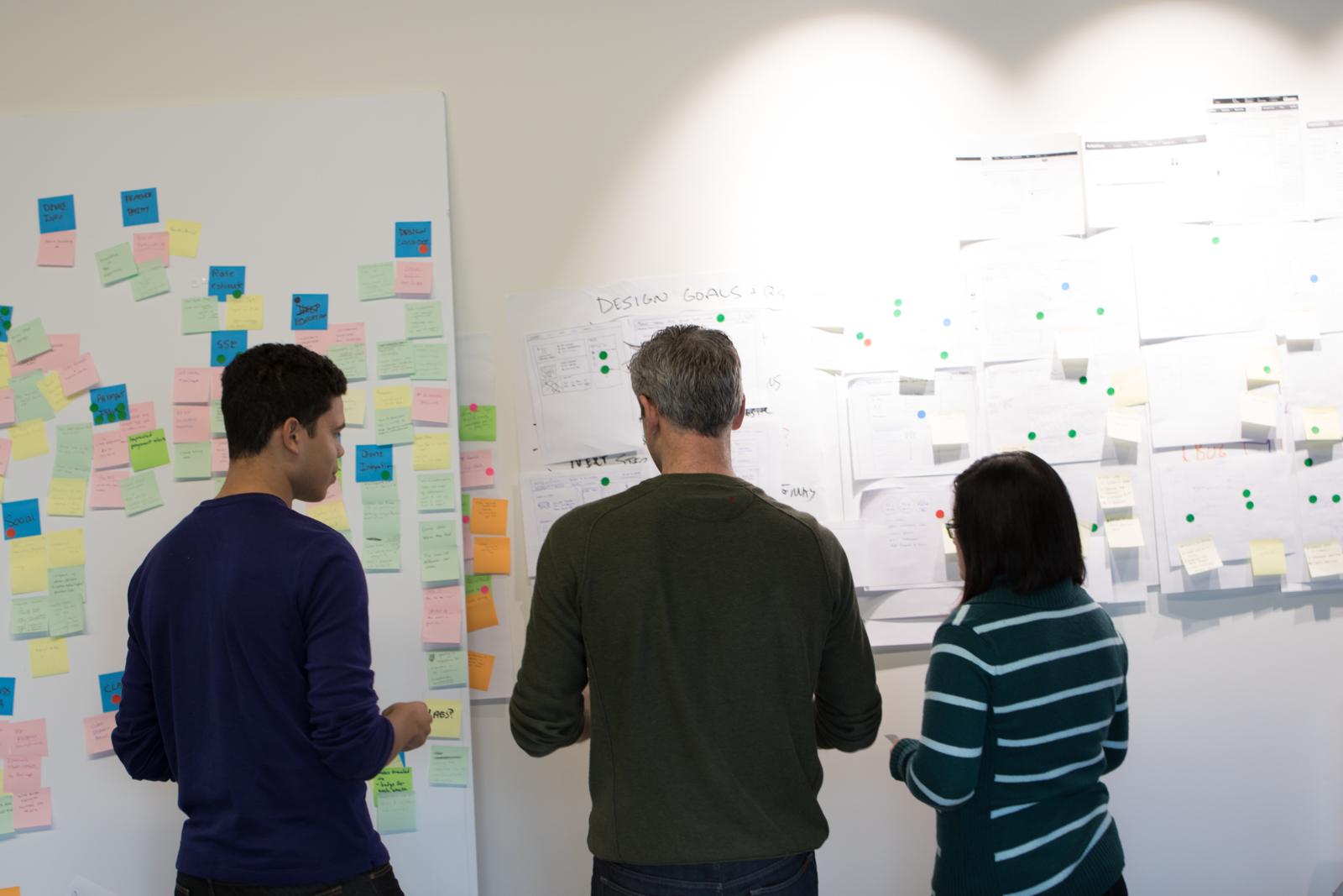 More design team discussions