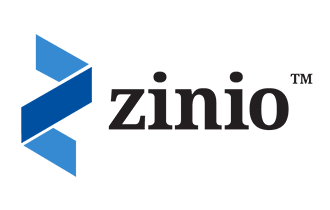 Zinio  is a provider of distribution services for digital magazines.