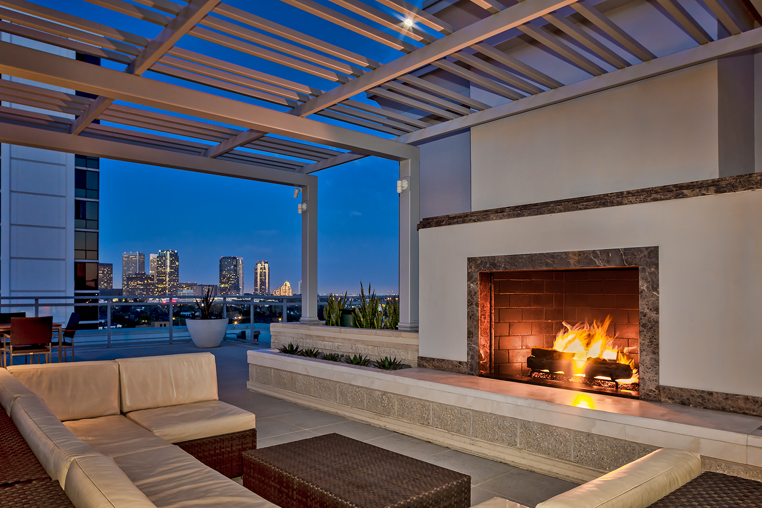 Apartments, Roof Top with View
