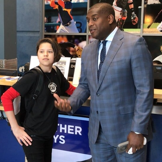 Lera Doederlein and   and Kevin Weekes