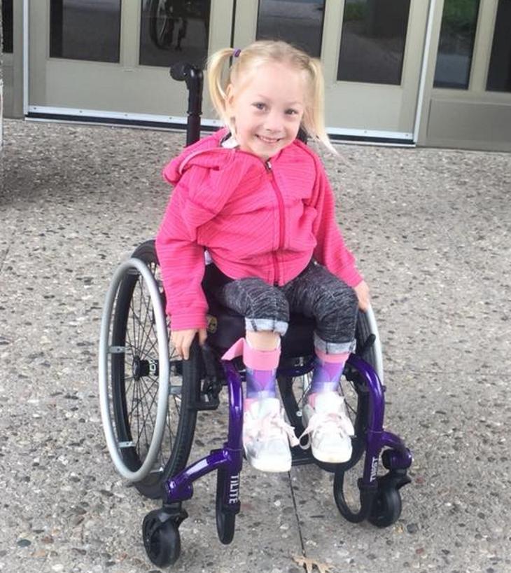Facebook/Mighty Miss Maya - Will to Walk