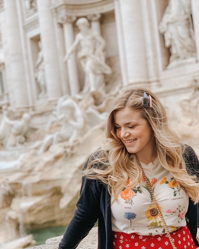 I tossed a coin and made a wish and it came true! Can't wait to share what it was so soon with all of you! Also, hello, can I go back to Rome soon, pretty pretty please! 💚⚪️❤️
