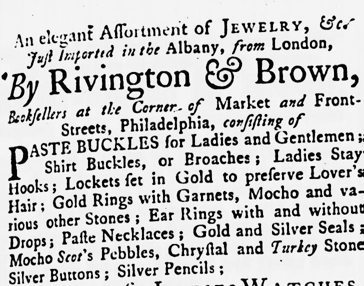 figure 4. maryland gazette, thursday august 5, 1762. maryland state archives.