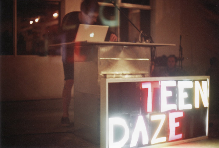 May 2010, the first Teen Daze show in Abbotsford, BC