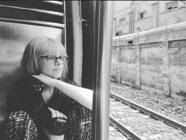 Director Andrea Alberti on passenger train in India
