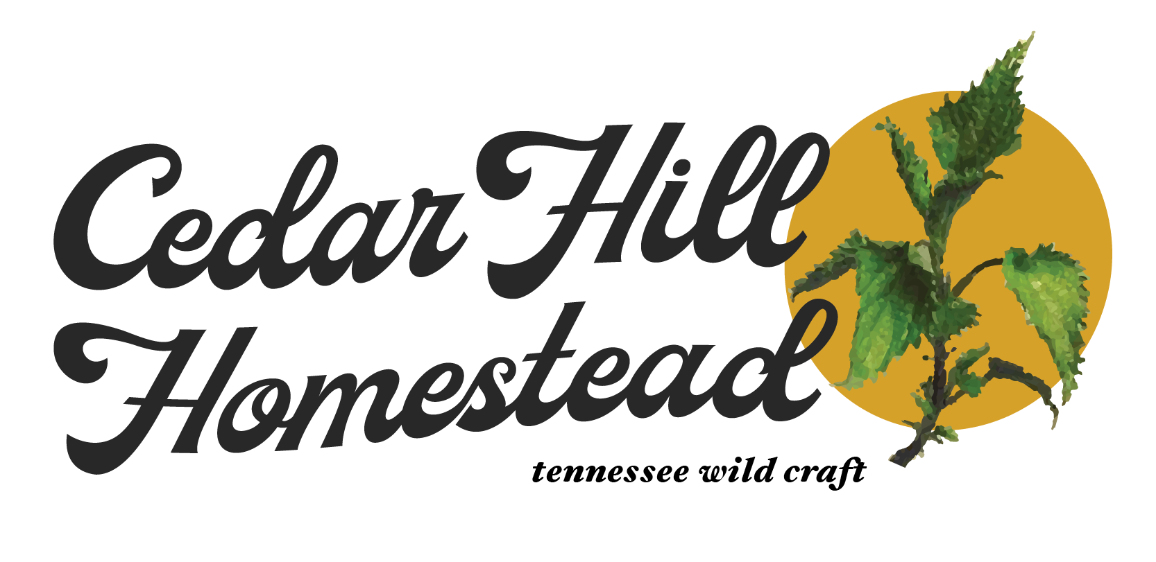 Cedar Hill Homestead Logo. 2019.