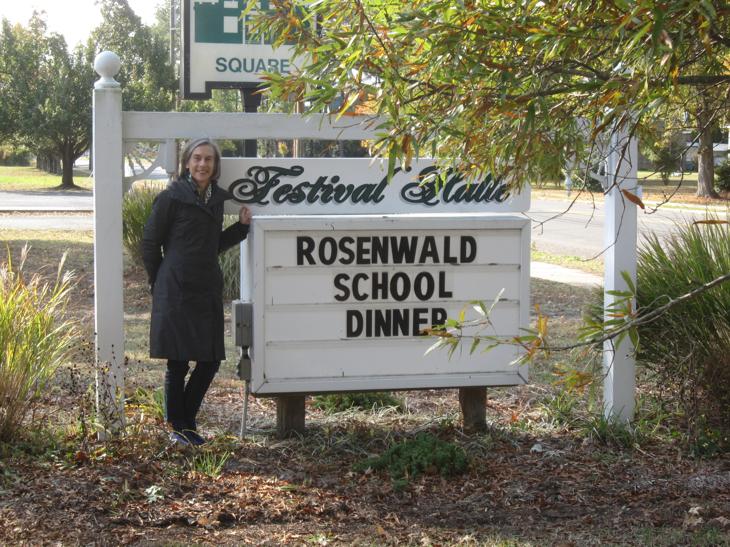 I love Rosenwald school events.  This one was in Reedville, Virginia.