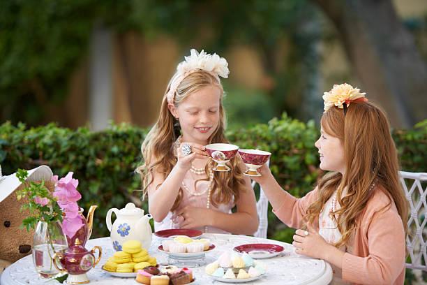 Drinking tea is fun -