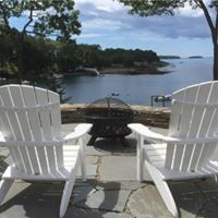 Patio in East Boothbay