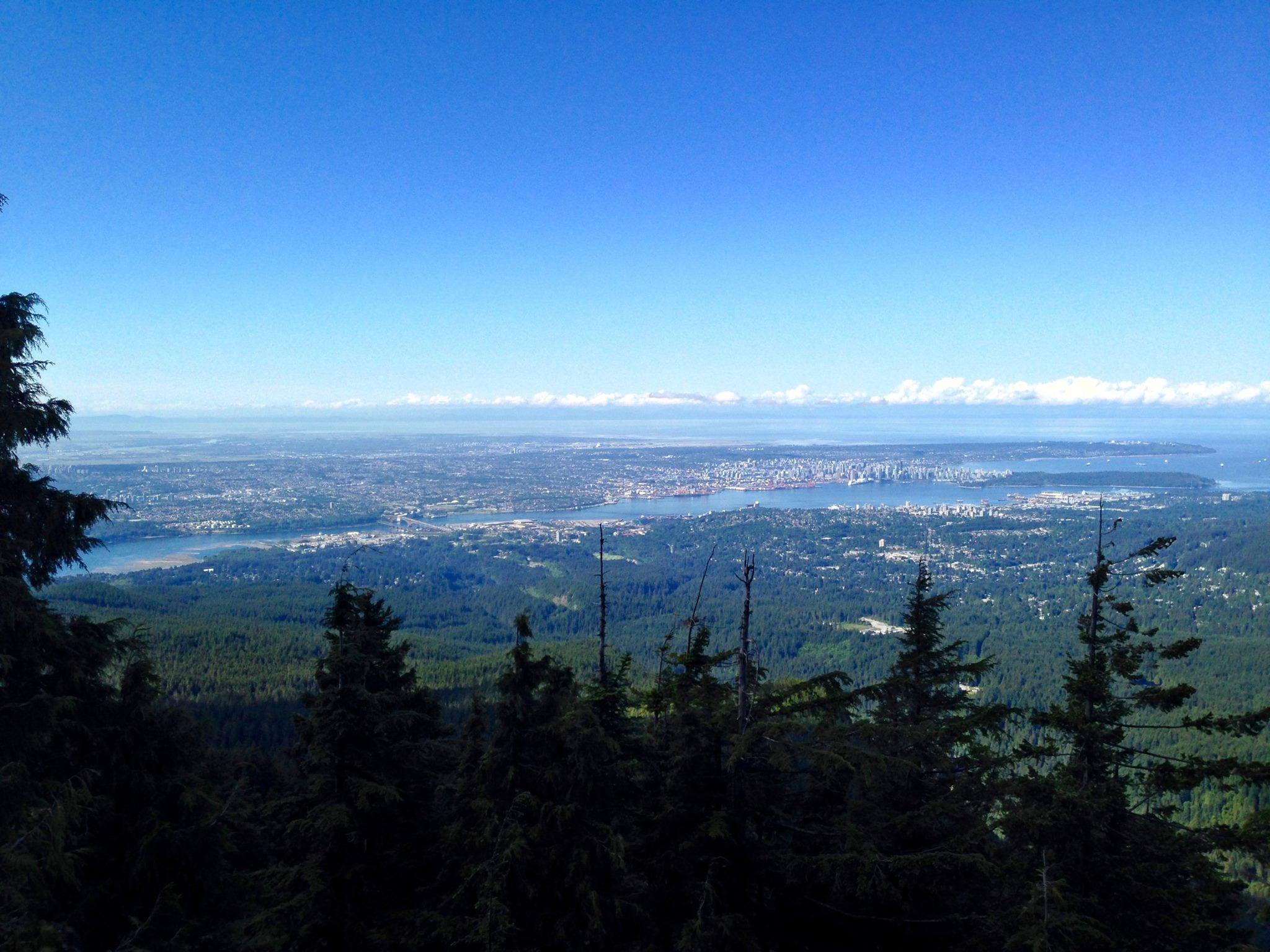 Hike to Mt. Seymour, Fall 2016