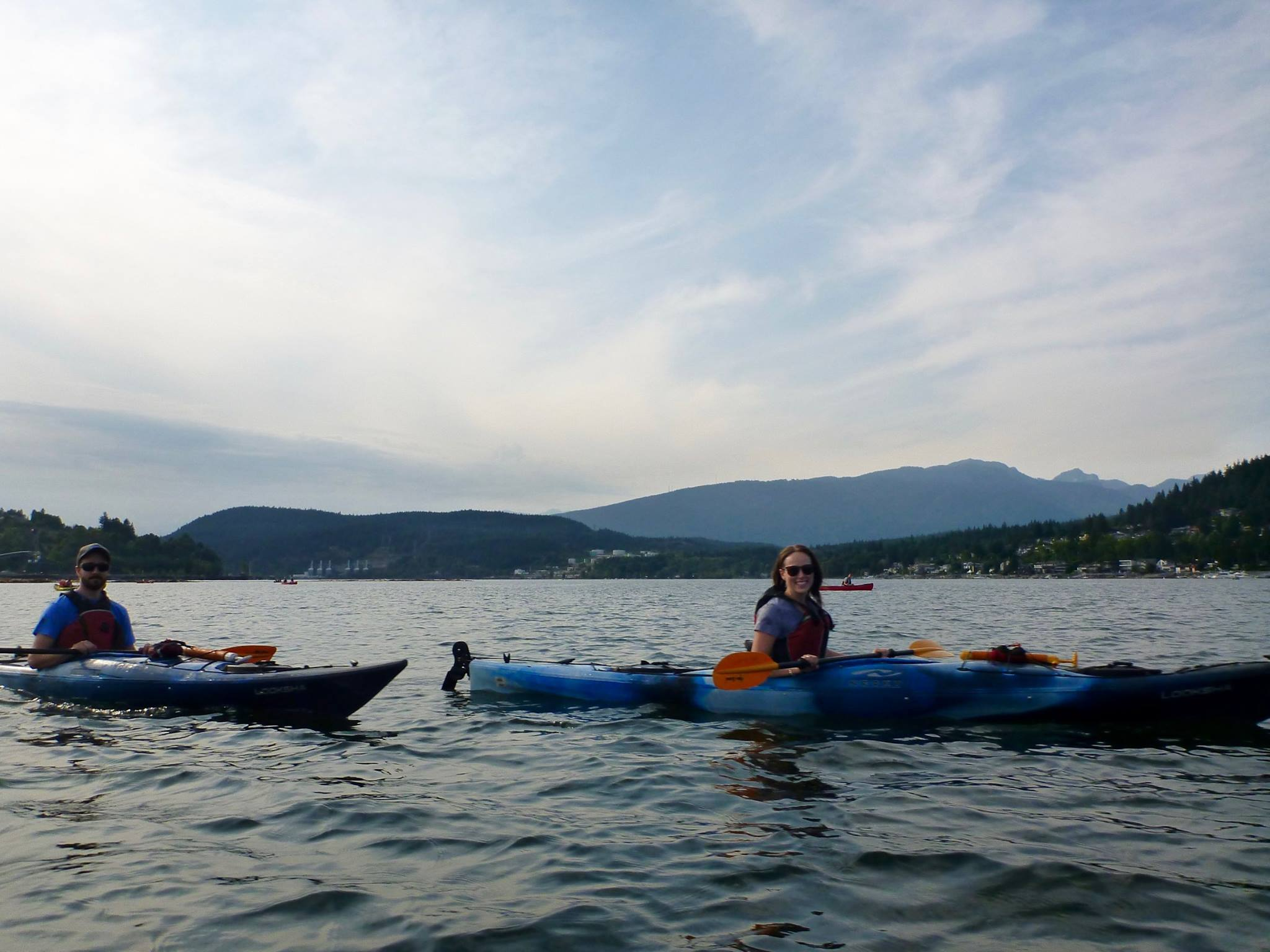Rocky Point Kayaking in Port Moody, Summer 2017