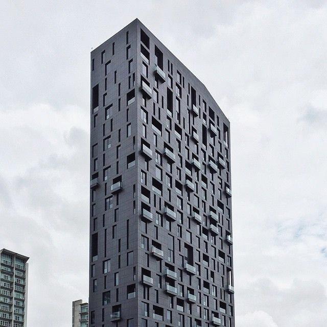 Magma Towers by GLR Arquitectos in Monterrey Mexico #facadefriday