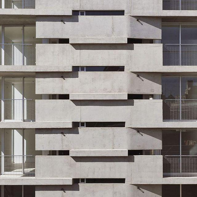 Maipu Building by Nicolás Campodonico in Argentina #facadefriday