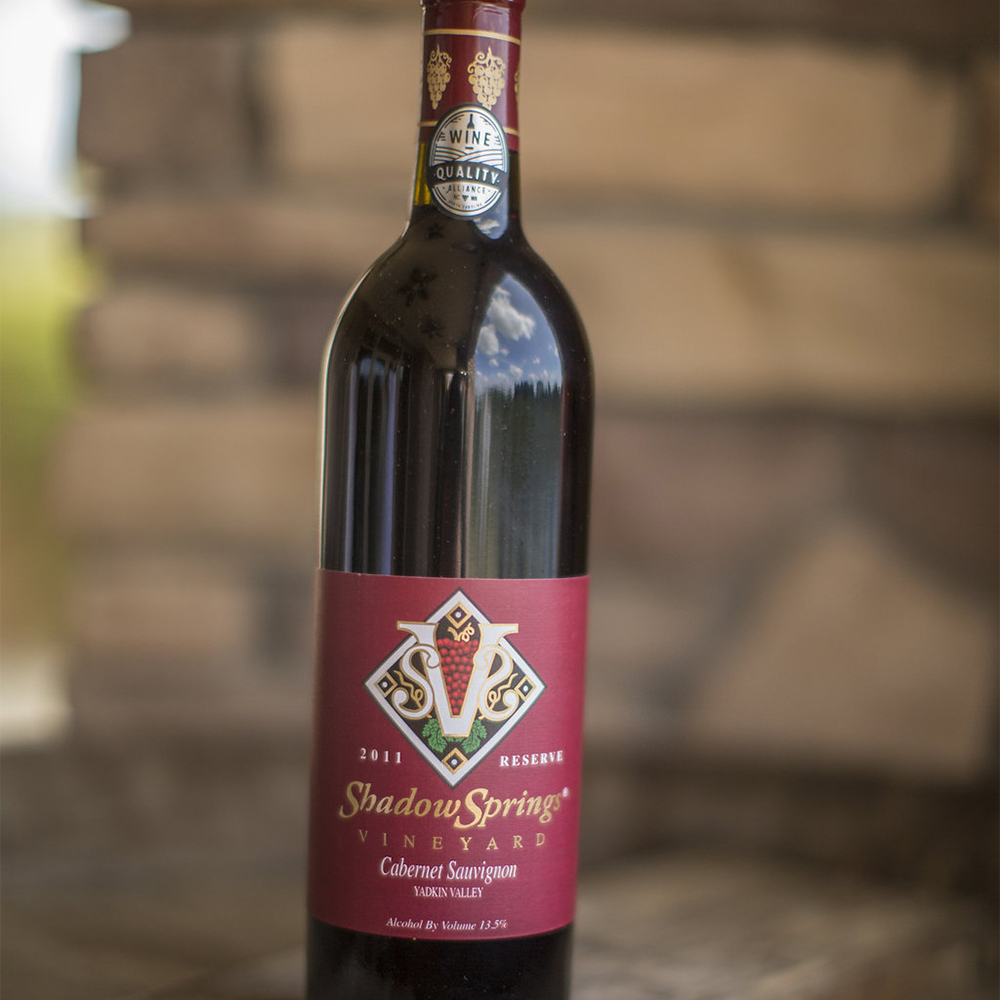 '11 Reserve Cabernet Sauvignon   $24  This 75% cabernet sauvignon and 25% petit verdot has flavors of blackberry, mocha, black cherry, and licorice. Finishes dry with velvety tannins