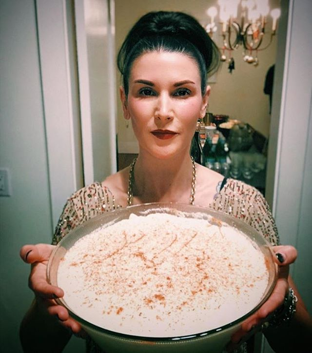 Yay to @katturnerwashere and her buddies for raising funds for @wckitchen. Want Kat's family eggnog recipe? Check out her feed. #cookgathergive ❤️