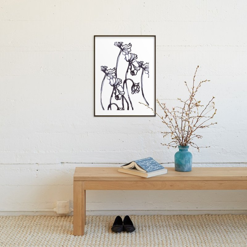 Ink CYCLAMEN at MINTED.com