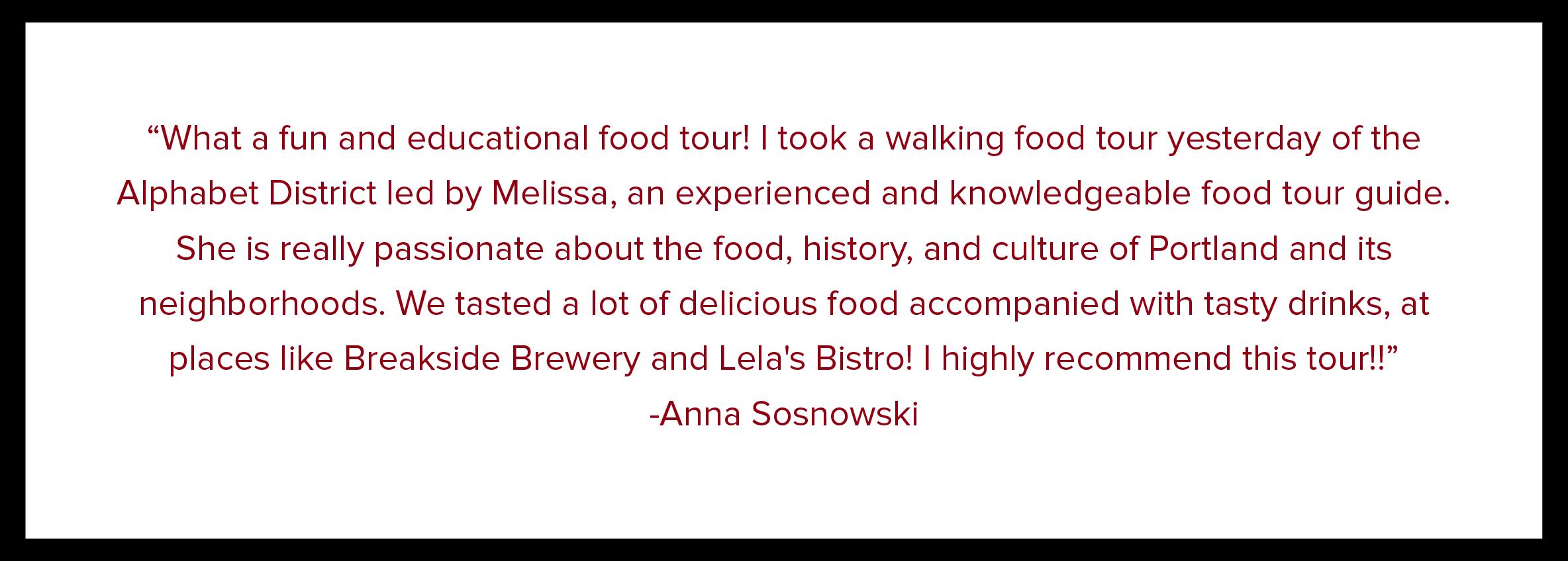 Portland Food Tour | Best PDX Food Tour | ZestyPDX | Take a Food Tour In Portland, Oregon