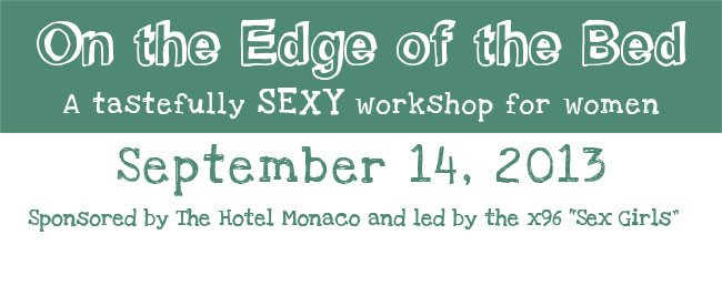 On The Edge Of The Bed Event