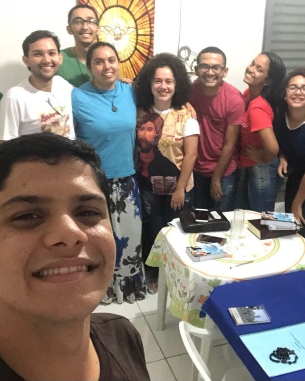 Jovens na Casa de Aliança - Araguaína