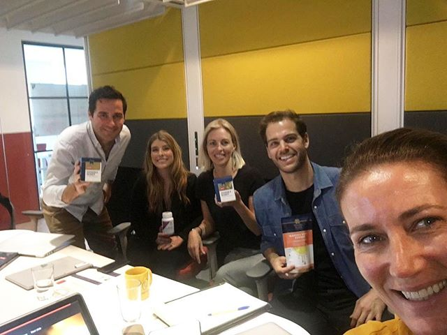 Great meeting with our new Kiwi partners @manukahealthnz! #ManukaHoney #ManukaHealth #GoGlobal
