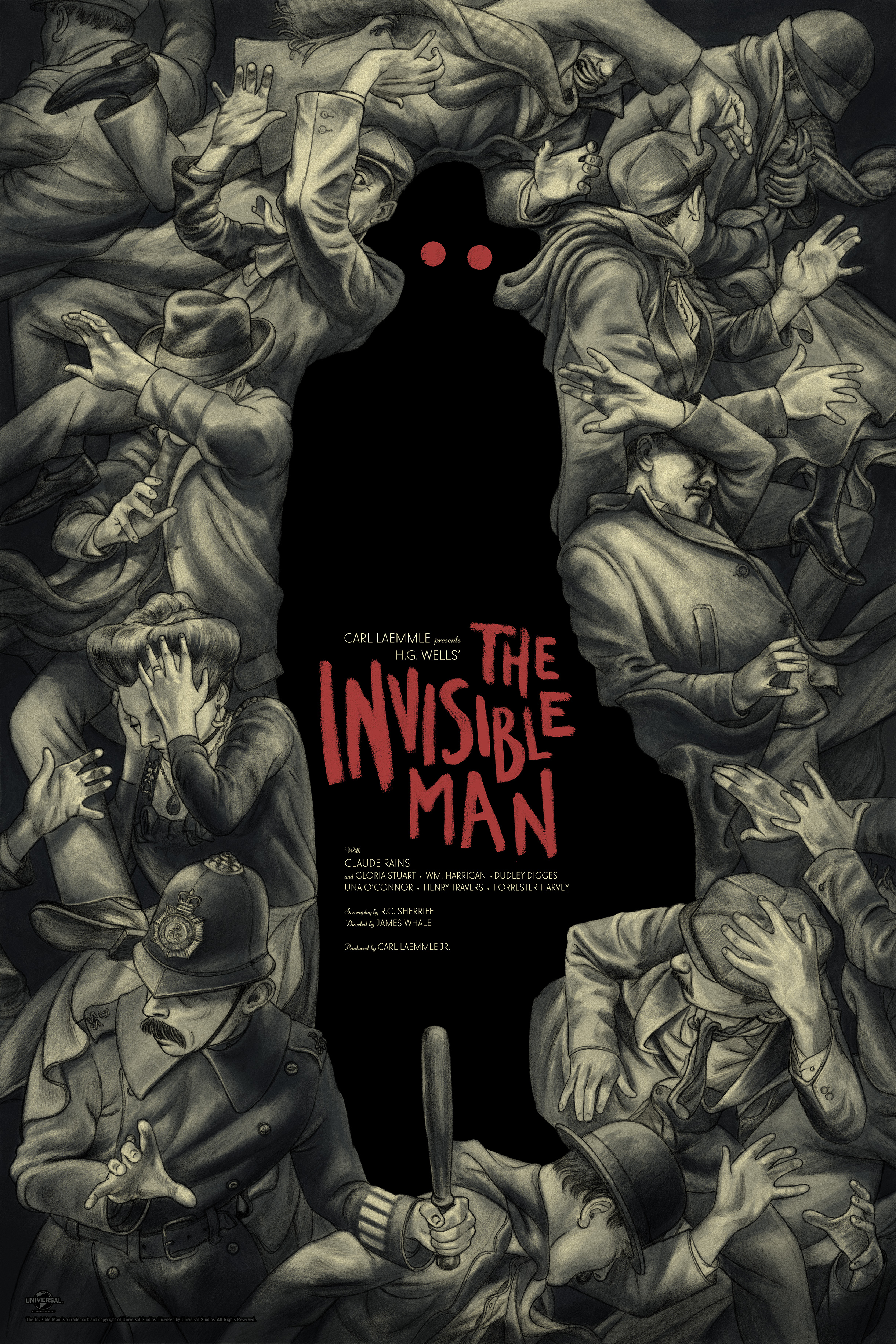 Invisible Man Poster 24in x 36in