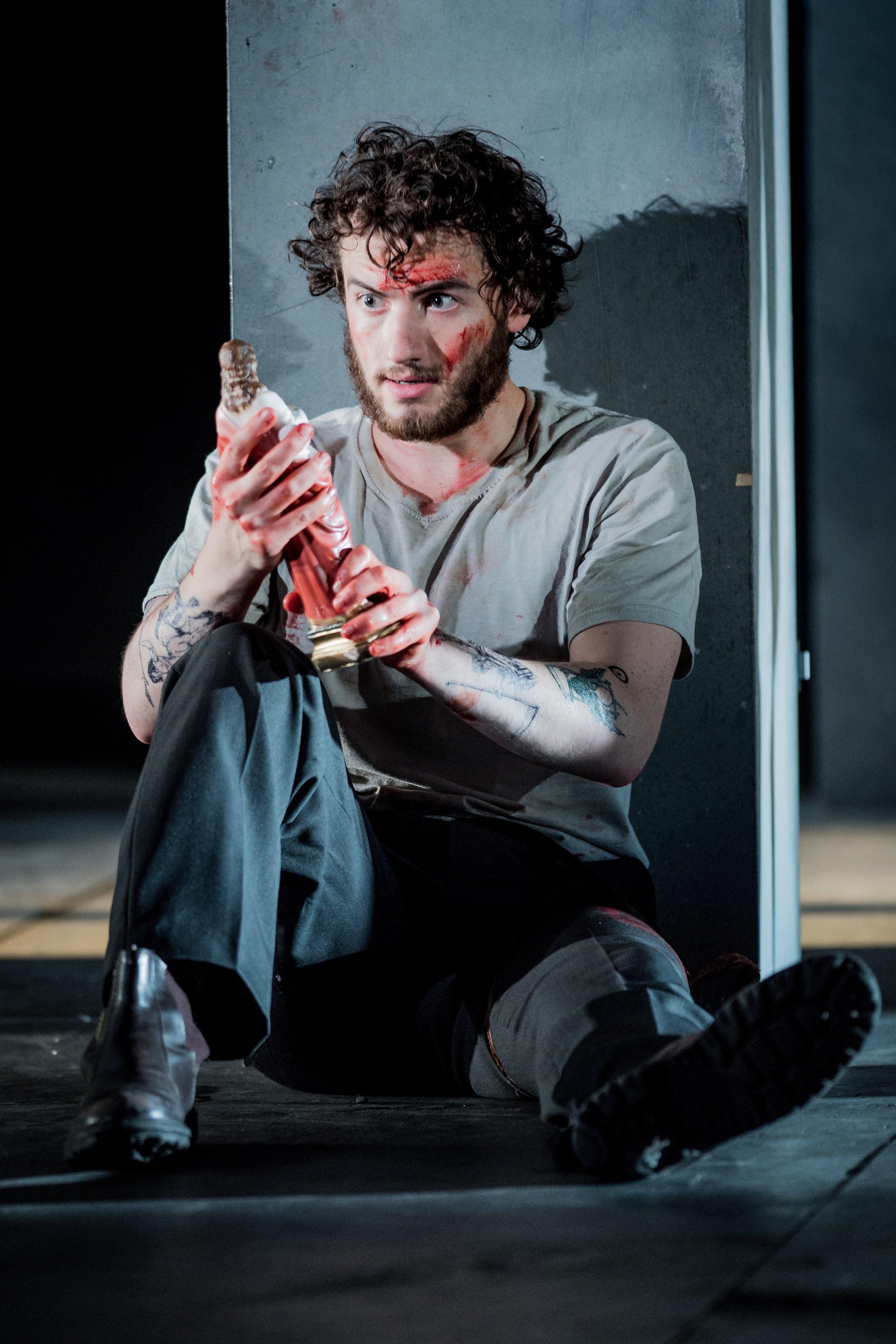 As Leporello in  Don Giovanni  with BYO. © Robert Workman
