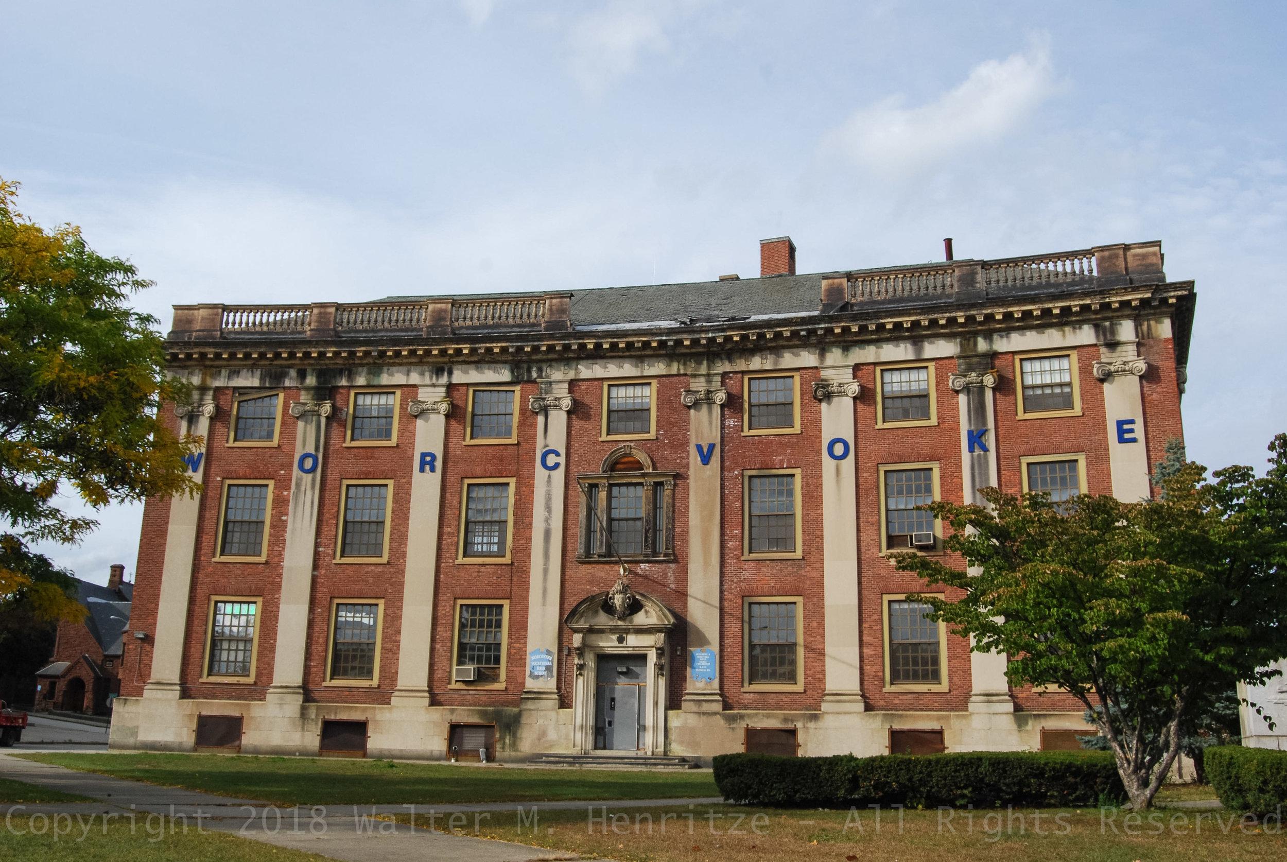 Boy's Club Building (Voke School): October 7, 2014