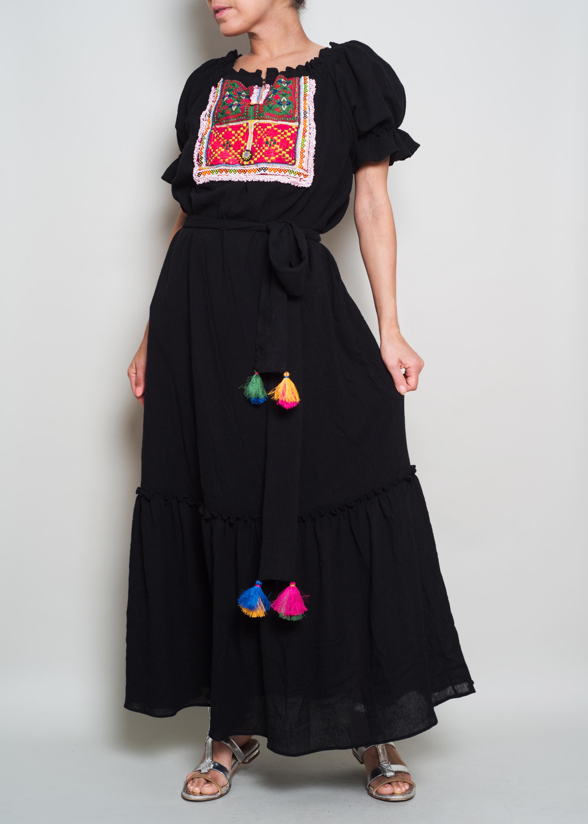 SOPHIE Black Gauze Banjara $345