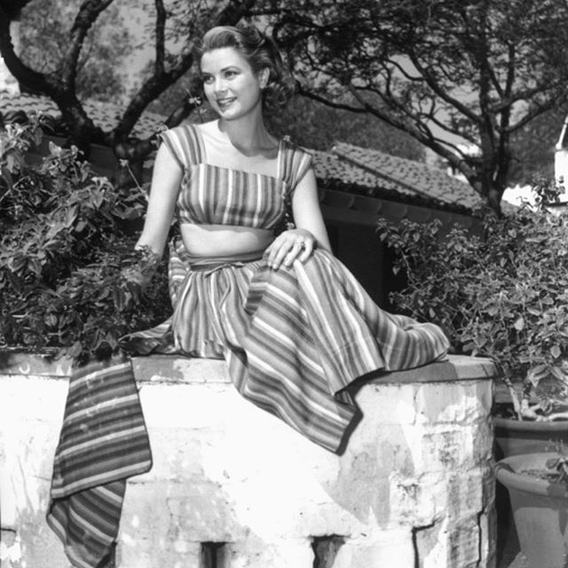 Summer style like the iconic Princess Grace _____________________________________________________ Le Marie Collection individually sources beautiful vintage textiles from around the world, recreating them into one of a kind and custom, vintage inspired dresses. Our process is completely waste free and hand made, staying true to standards of sustainable, slow fashion. #romantics #bohemianluxe #bohemian #boho #bohochic #gypsy #slowfashion #bespoke #greenliving #vintagefabrics #sari#sustainablefashiton #sustainablestyle #vintagetextiles #reclaim #reuse #recycle #notjustaprettydress#vintageinspiration#gracekelly