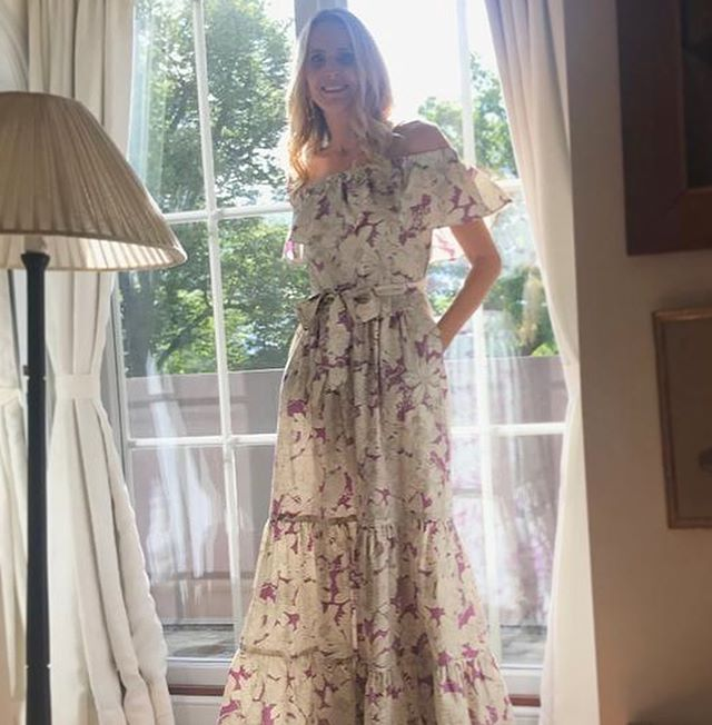 My best friend, soul-sister and customer sent me photos In her Le Marie dress in Sweden... inspiring me to sew up some more one of a kind pieces for fall. 💗💜🖤 _________________________________________________________ Le Marie Collection individually sources beautiful vintage textiles from around the world, recreating them into one of a kind and custom, vintage inspired dresses. Our process is completely waste free and hand made, staying true to standards of sustainable, slow fashion. #romantics #bohemianluxe #bohemian #boho #bohochic #gypsy #slowfashion #bespoke #greenliving #vintagefabrics #silk #sari#sustainablefashiton #sustainablestyle #vintagetextiles #reclaim #reuse #recycle #notjustaprettydress#tropicalvibes#florals#ruffles#resort#summerstyle#independentdesigner#ruffles#maxi#fashionaddict