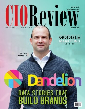 Dandelions Founder & CEO Brad Krieger speaks to CIOReview about Building brands with data