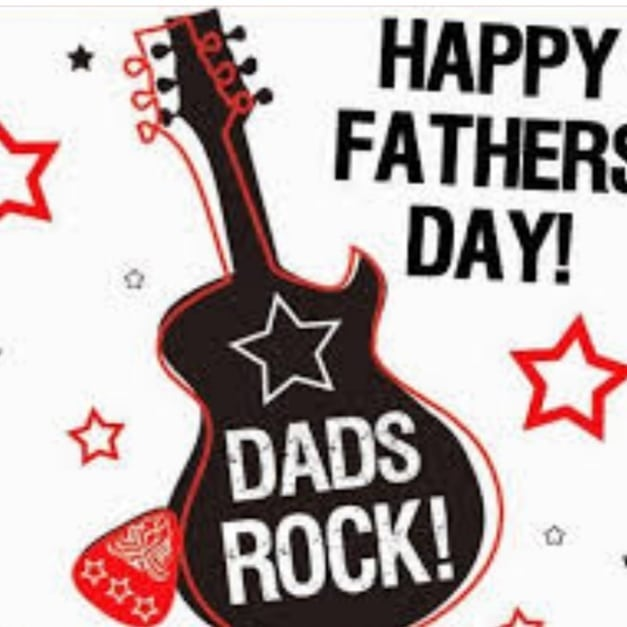 Dads Rock! Happy Fathers Day to all the awesome dads out there!