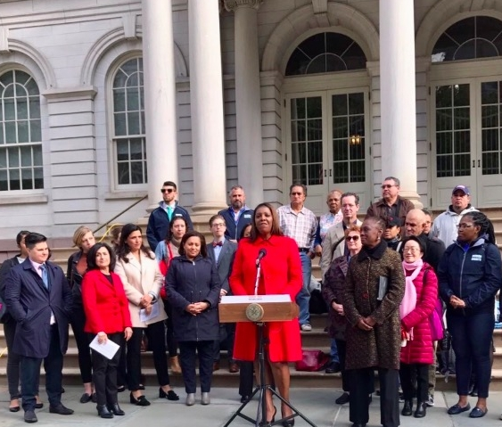 And only 9out of 51 council members identify as women of color. -