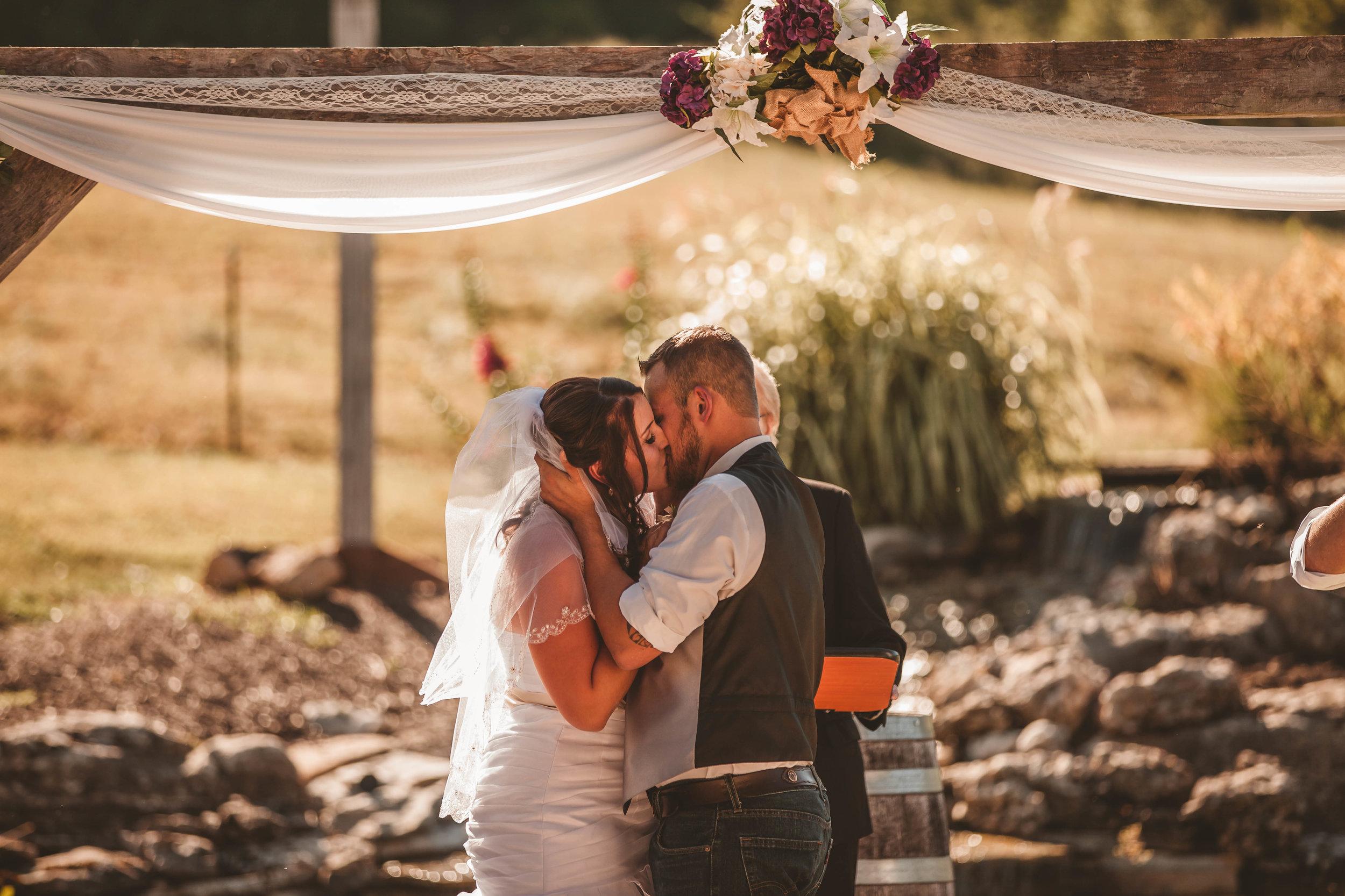 jessica & brett - wedding & reception @ rocking j ranch