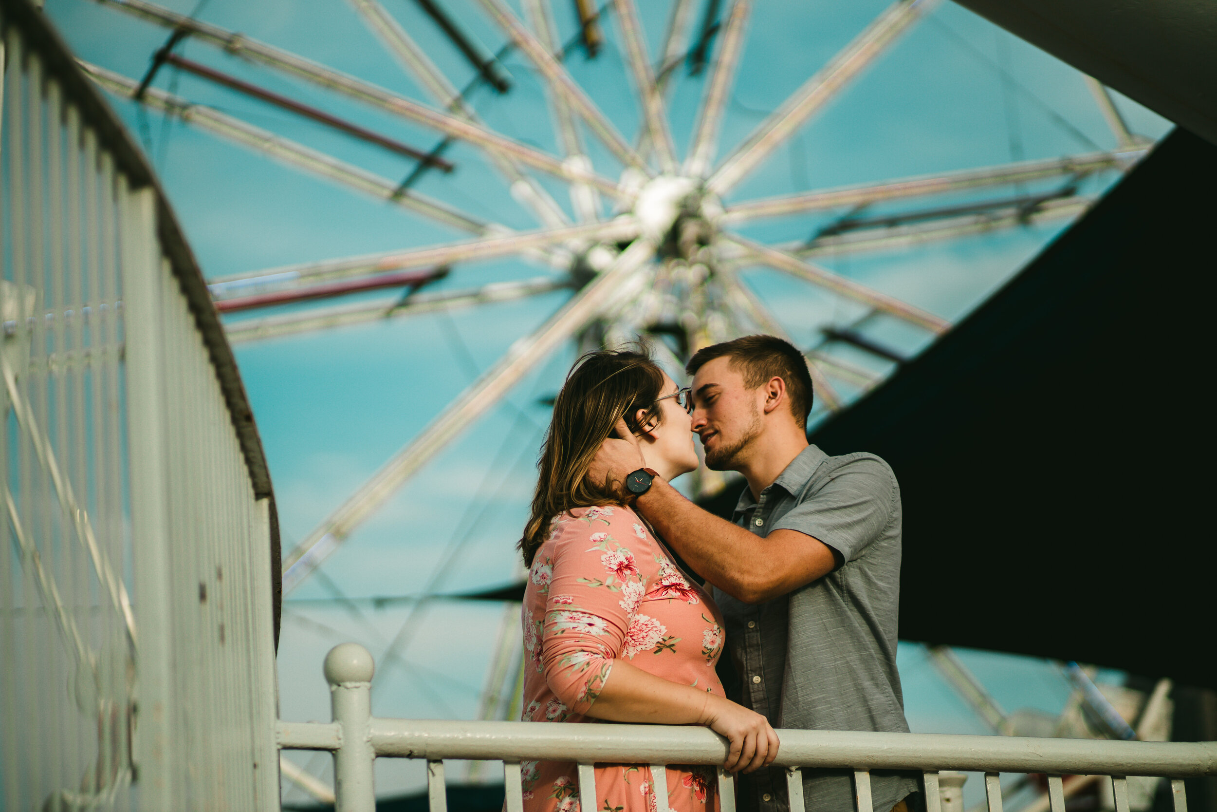 lindsay & tucker - an engagement @ city museum