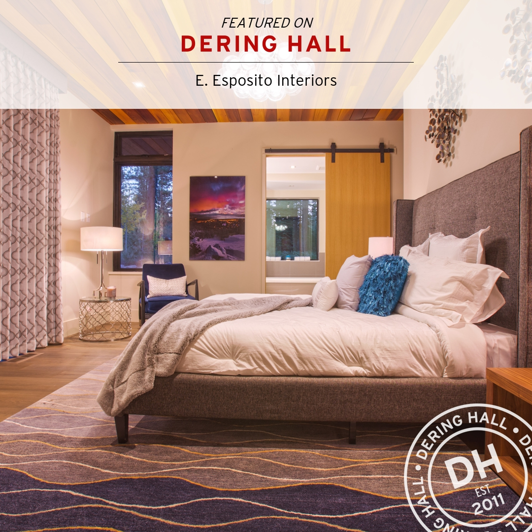 Dering Hall - Featured in Gorgeous Bedrooms with Wood Ceilings.