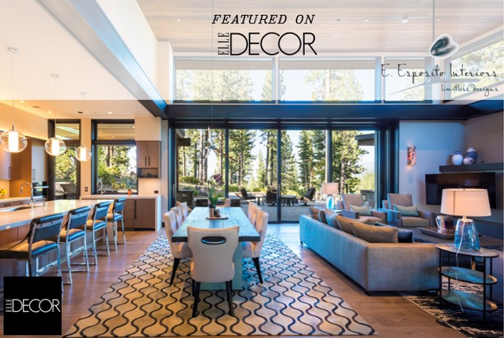 Elle Decor - Featured in 30+ Ideas For A Chic-Open Concept Space