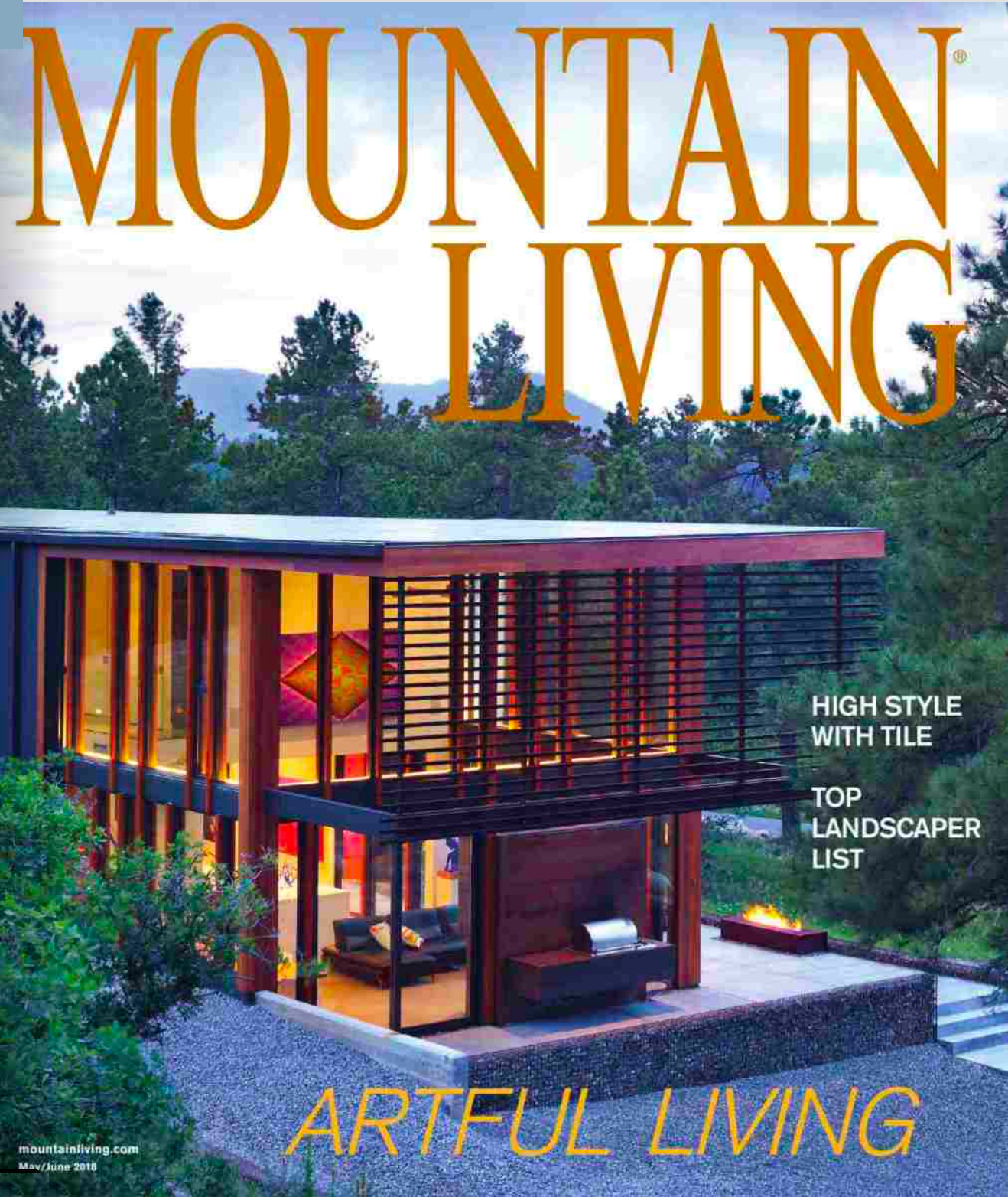 Mountain Living Magazine - Lake Tahoe SpotlightMay/June 2018 // Our firm was featured in the Lake Tahoe Spotlight in the Spring & Summer Mountain Living issue.